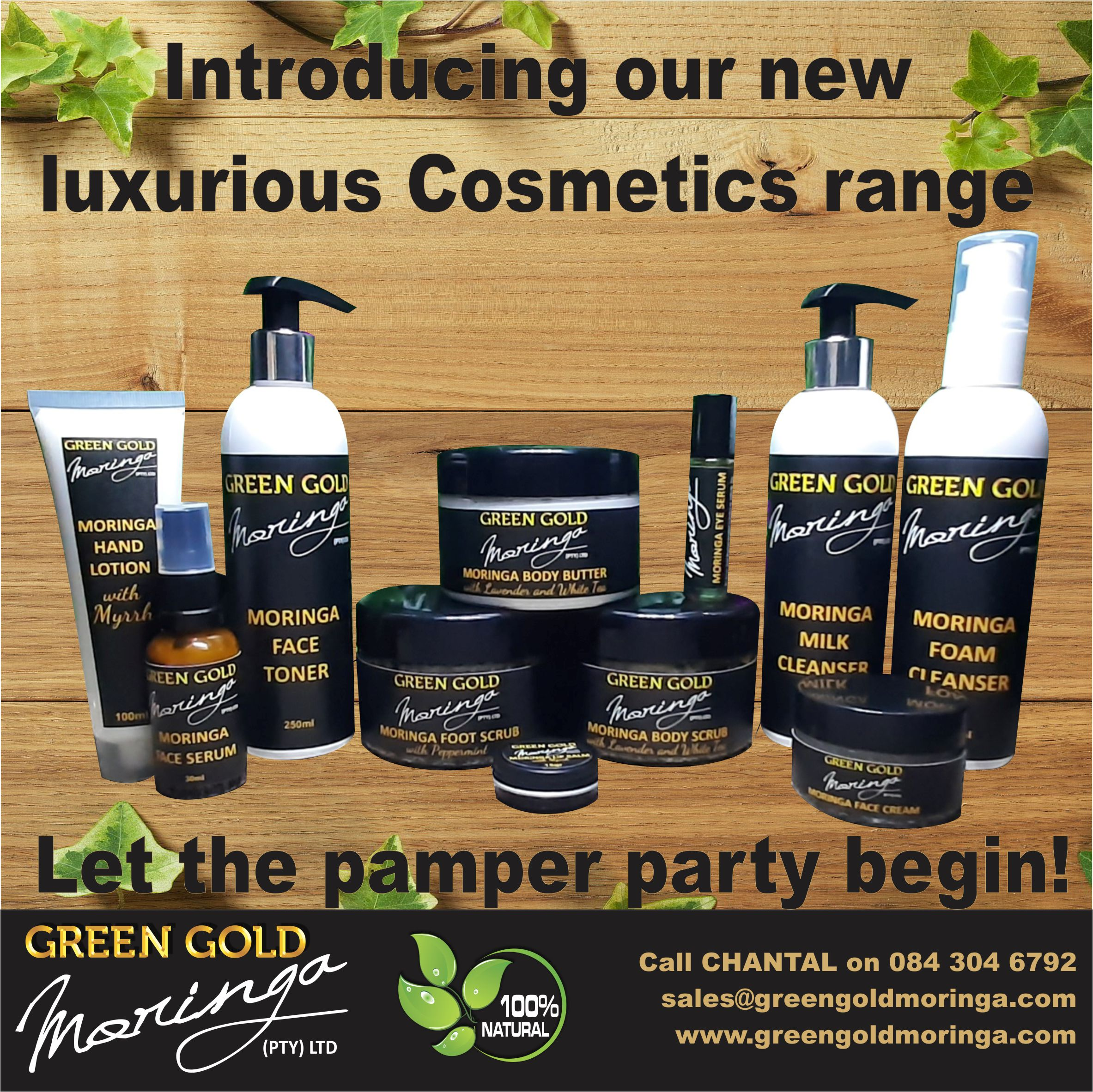 Introducing our NEW Luxurious Cosmetics range!