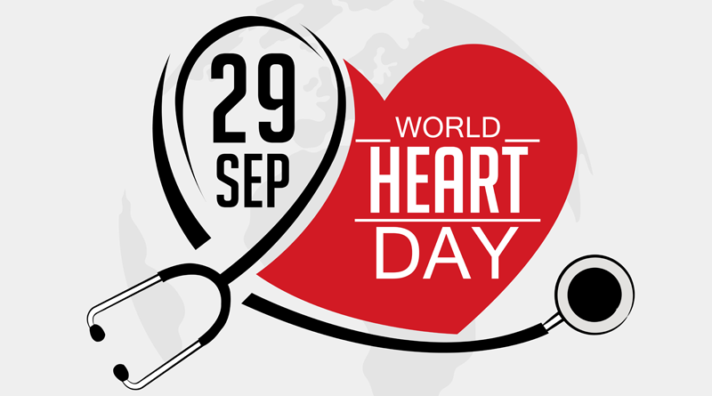 World Heart Day – The Importance of looking after your heart!